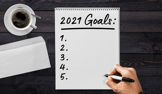 set goals in writing