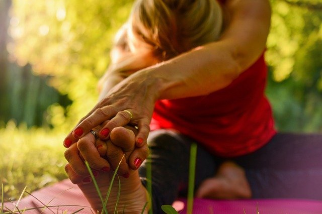 yoga stretching for ptsd